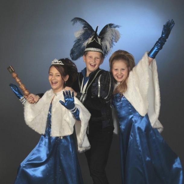 Hofdame Oceana, Jeugdprins Neptunus en Prinses Ariël