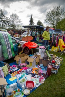Kofferbakverkoop Gerwen 15 april 2012