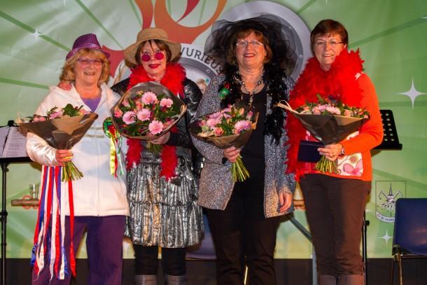 De winnaars van de Senior van het Jaar 2013: de Eetkamer in Gerwen