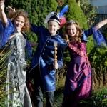 Jeugdtrio 2014 - Hofdame Shine, Jeugdprins Marcos en Jeugdprinses Sun