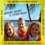 Onderscheiding Jeugd Narre-Kappen Gerwen 2014