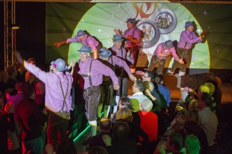 De Gouwe Ouwe tijdens de eerste Zwamavond van 2013