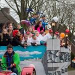 Optocht 2014 - Prinsenwagen De Narre-Kappen