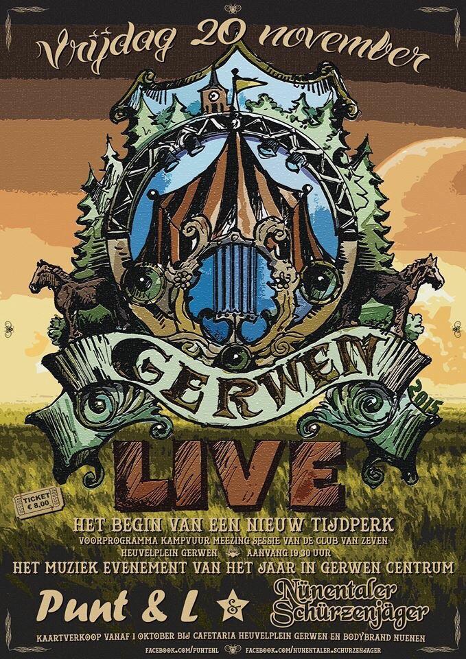 Gerwen Live Punt en L + Nunenthaler Schurzenjager