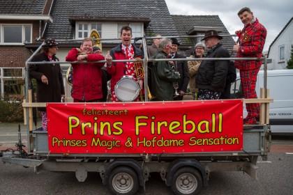3e prijs: Klippeleaters - Klippeleaters feliciteren Prins Fireball