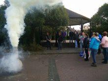 Witte rook in Gerwen