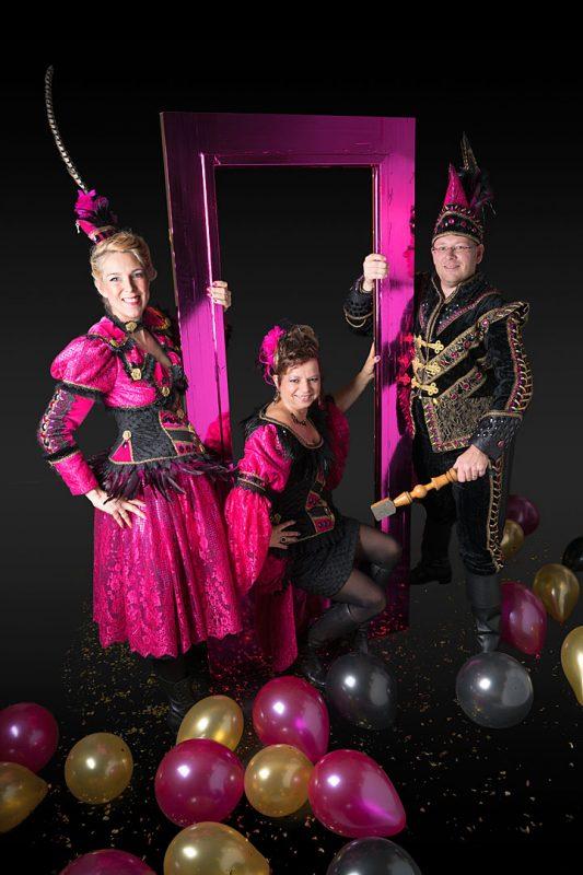 Prins VinZZ, Prinses GlitZZ en hofdame GlamZZ