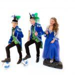 Adjudant Penalta, Jeugdprins Juventa en Jeugdprinses Danza