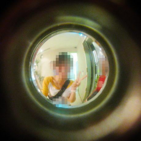 Voordeur spionnetje