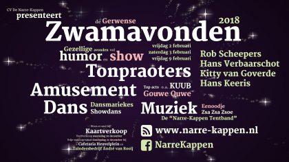Derde Zwamavond @ Residentie D'n Tent, Heuvelplein, Gerwen
