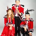 Jeugdtrio 2018 - Hofdame Crystal, Jeugdprins Snowfox en Adjudant Freeze