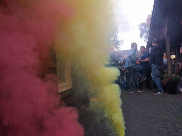 Gekleurde rook