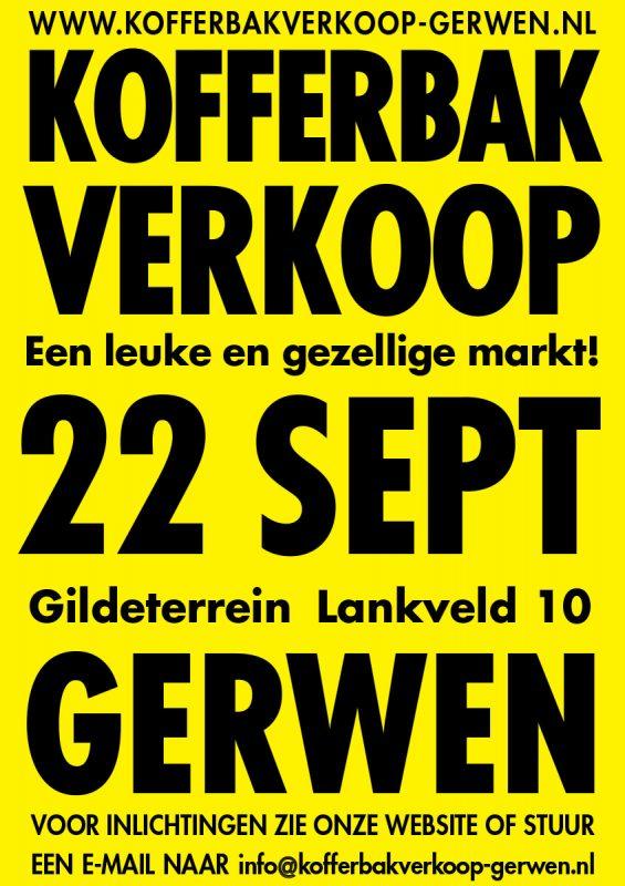 Kofferbakverkoop Gerwen 2019-09-22