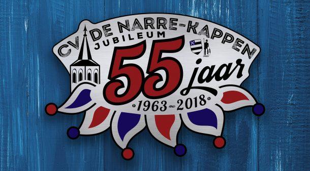 Logo 55 jr CV De Narre-Kappen