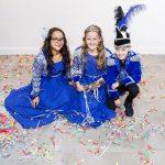 Jeugdprinses Amazing, Hofdame Fabulous en Adjudant Excellent