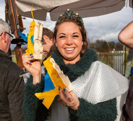 Prinsenschieten - Al na 21 schoten was het Prinses Segunda Esposa die de vogel omlaag wist te schieten