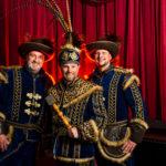 Prins Consilium met adjudanten Venditore en Auxilio